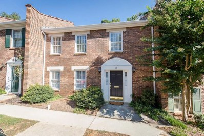 70 Old Ivy Rd NE UNIT 39, Atlanta, GA 30342 - MLS#: 6072116