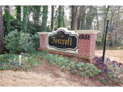 6851 Roswell Rd UNIT G11, Atlanta, GA 30328 - MLS#: 6082353