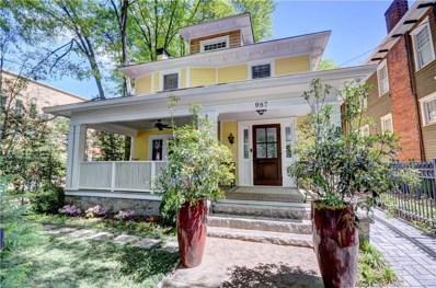 987 Myrtle Street NE, Atlanta, GA 30309 - MLS#: 6508453