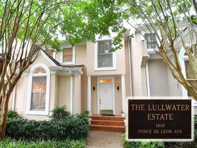 17 Lullwater Estate NE, Atlanta, GA 30307 - MLS#: 6598919