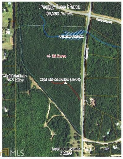 Hammett Rd, Hogansville, GA 30230 - MLS#: 8173850