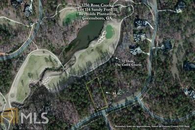 1250 Rose Creek, Greensboro, GA 30642 - MLS#: 8214447