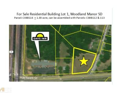 Woodland Manor UNIT Lot 1, Royston, GA 30662 - MLS#: 8257810