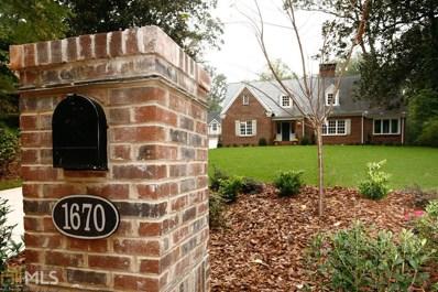 1670 NE Ridgewood Dr, Atlanta, GA 30307 - MLS#: 8273597