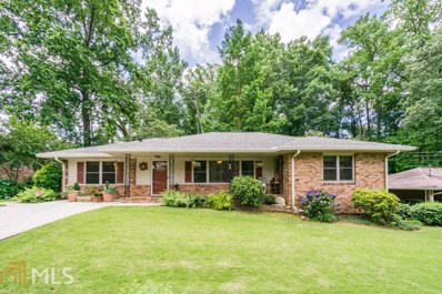 1195 Franklin Cir, Atlanta, GA 30324 - MLS#: 8386593