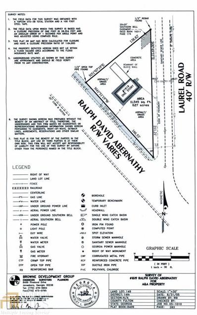 1619 Ralph David Abernathy Ave, Atlanta, GA 30310 - MLS#: 8395609