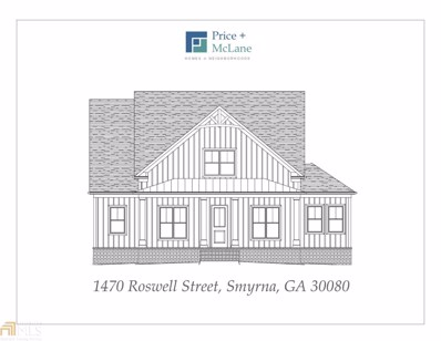 1470 Roswell St, Smyrna, GA 30080 - MLS#: 8482538
