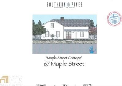67 Maple St, Roswell, GA 30075 - #: 8619390