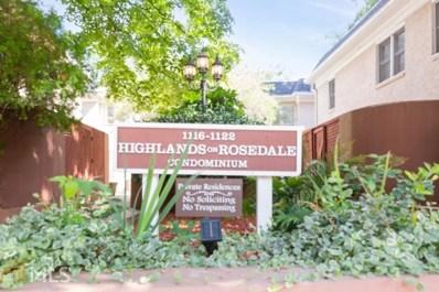 1120 Rosedale Dr, Atlanta, GA 30306 - #: 8688328