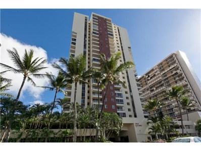 2740 Kuilei Street UNIT 1408, Honolulu, HI 96826 - #: 201724483