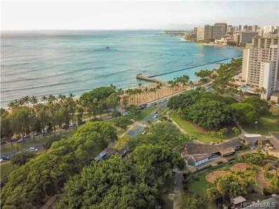 134 Kapahulu Avenue UNIT 601, Honolulu, HI 96815 - #: 201800377