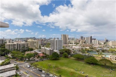 1617 Keeaumoku Street UNIT 1701, Honolulu, HI 96822 - #: 201812685