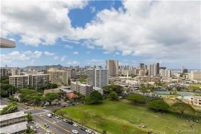 1617 Keeaumoku Street UNIT 1701, Honolulu, HI 96822 - #: 201812685