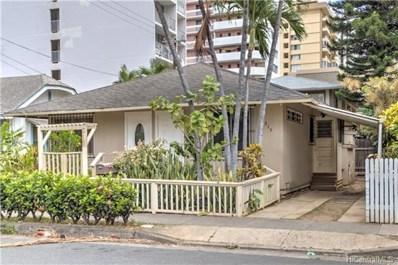 315 Liliuokalani Avenue, Honolulu, HI 96815 - #: 201817925