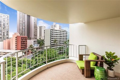 469 Ena Road UNIT 1007, Honolulu, HI 96815 - #: 201829138