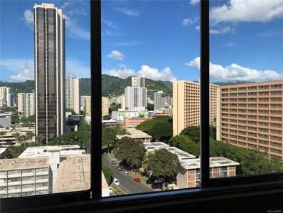1560 Kanunu Street UNIT 1421, Honolulu, HI 96814 - #: 201829926
