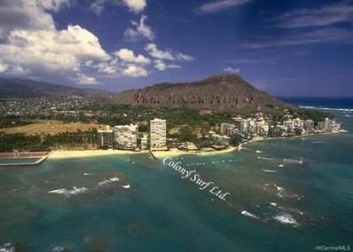 2895 Kalakaua Avenue UNIT 1007, Honolulu, HI 96815 - #: 201909995