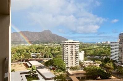 229 Paoakalani Avenue UNIT 1508, Honolulu, HI 96815 - #: 201917515