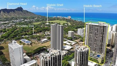 229 Paoakalani Avenue UNIT 713, Honolulu, HI 96815 - #: 201922346