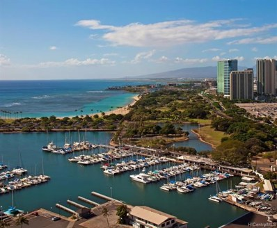 1700 Ala Moana Boulevard UNIT 2401, Honolulu, HI 96815 - #: 201923431