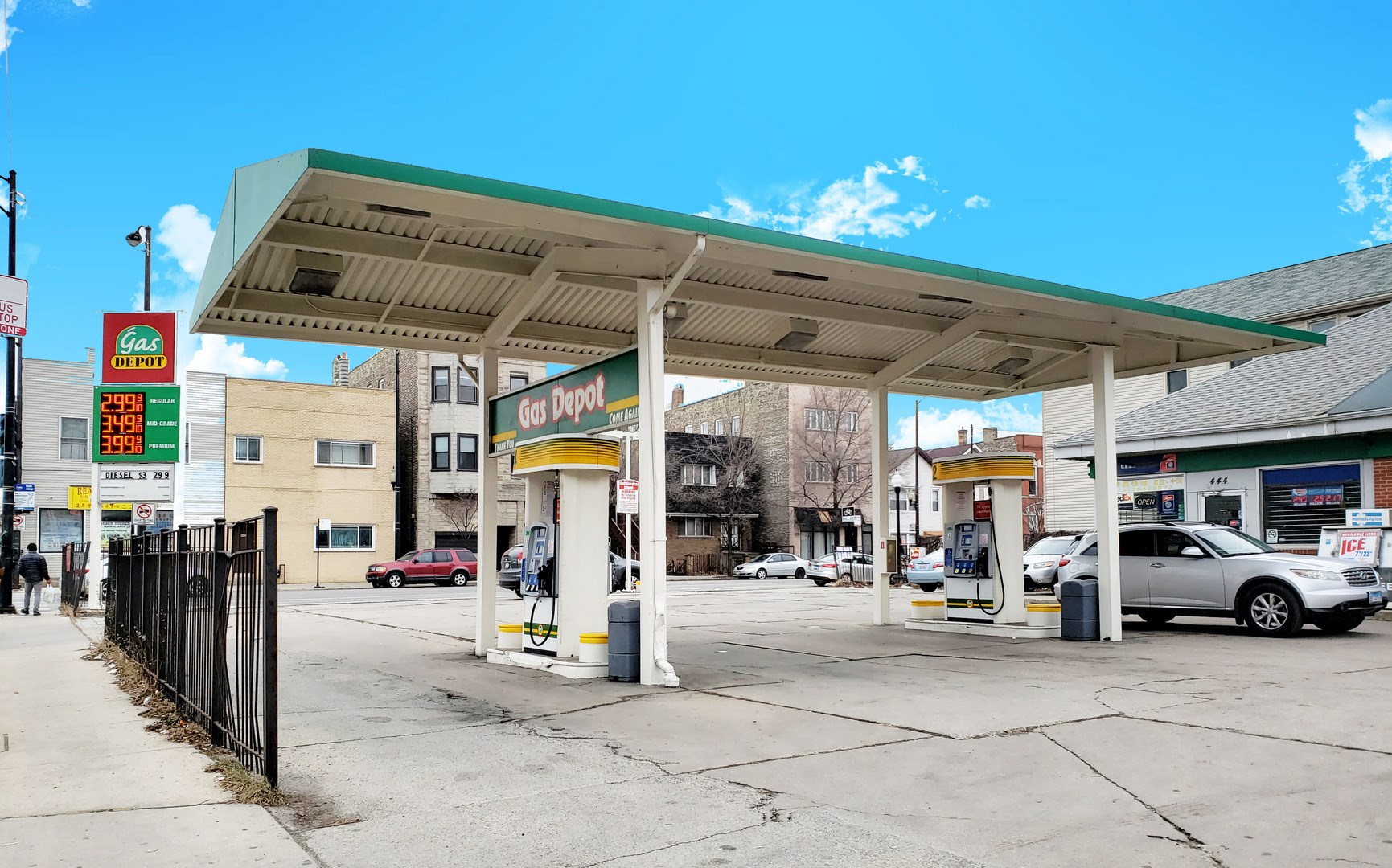 Bridgeport Gas Station