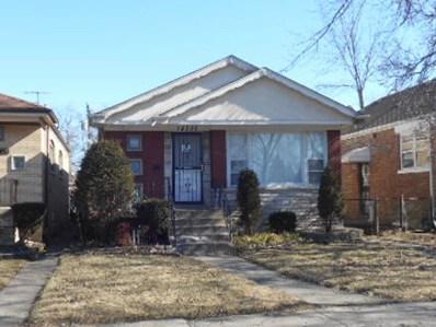 14235 S Wallace Avenue, Riverdale, IL 60827 - MLS#: 09504258
