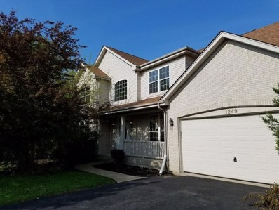 1249 Danhof Drive, Bolingbrook, IL 60490 - MLS#: 09622412