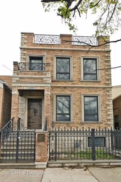 2446 W Huron Street, Chicago, IL 60612 - MLS#: 09629759