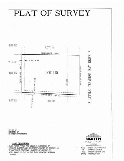 20666 Little Traverse Bay Drive, Frankfort, IL 60423 - MLS#: 09639238