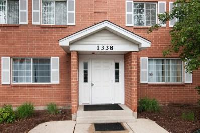 1338 S Lorraine Road UNIT F, Wheaton, IL 60189 - MLS#: 09664730