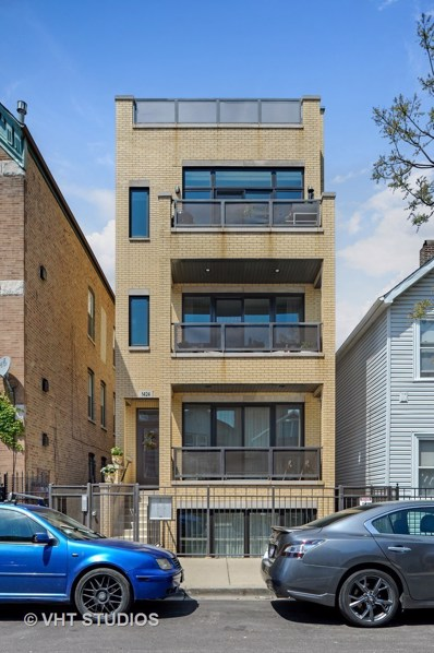 1424 W Walton Street UNIT 3, Chicago, IL 60642 - MLS#: 09684810