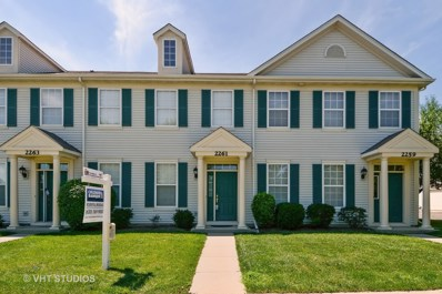 2261 E Barrington Drive UNIT 2261, Aurora, IL 60503 - MLS#: 09695795