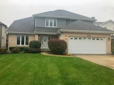 316 Oak Meadows Drive, Wood Dale, IL 60191 - MLS#: 09698329