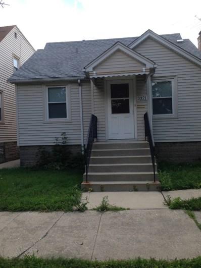3321 N Pacific Avenue, Chicago, IL 60634 - MLS#: 09712053
