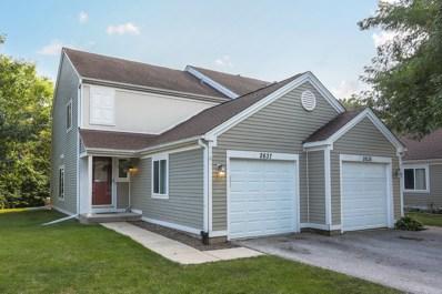 2637 Prairieview Lane SOUTH, Aurora, IL 60502 - MLS#: 09714180