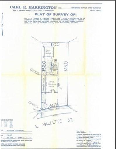 235 E Vallette Street EAST, Elmhurst, IL 60126 - #: 09715087
