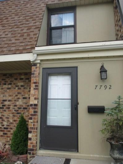 7792 WOODWARD Avenue UNIT 10-2E, Woodridge, IL 60517 - MLS#: 09717625