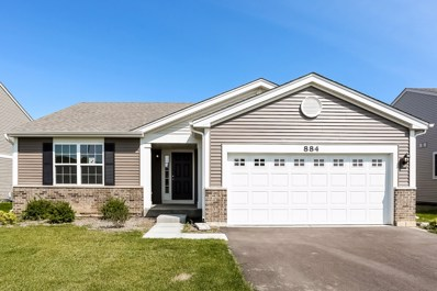 884 Timber Lake Drive, Antioch, IL 60002 - MLS#: 09718516