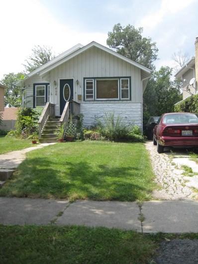 436 S Riverside Drive, Villa Park, IL 60181 - MLS#: 09722534