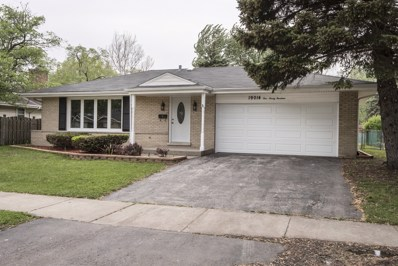 19014 Center Avenue, Homewood, IL 60430 - MLS#: 09729513