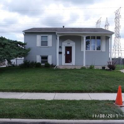 235 Tallman Avenue, Romeoville, IL 60446 - #: 09730265