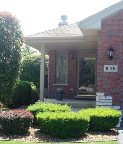 10415 San Luis Lane, Orland Park, IL 60467 - MLS#: 09739104