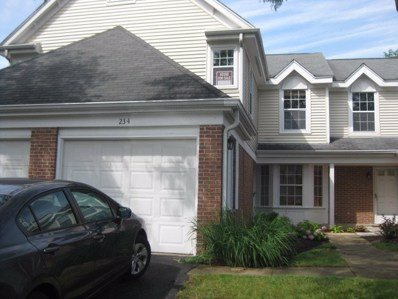 234 GREEN KNOLL Lane, Streamwood, IL 60107 - MLS#: 09740226