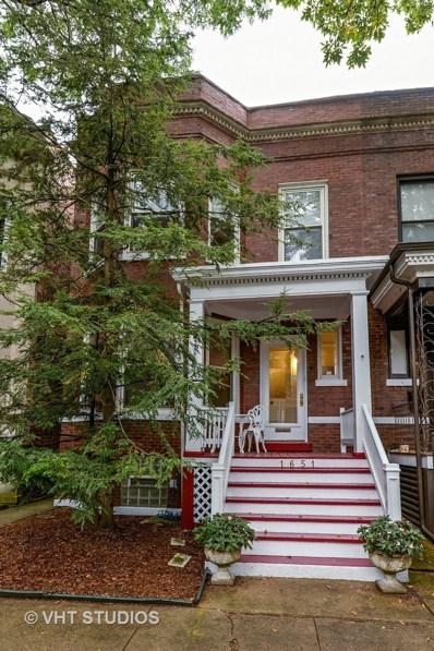 1651 W Byron Street, Chicago, IL 60613 - MLS#: 09741947