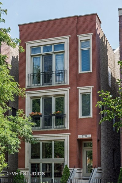 2231 N Leavitt Street UNIT 3, Chicago, IL 60647 - MLS#: 09743179