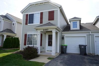 2457 Summerwind Lane, Montgomery, IL 60538 - MLS#: 09743954