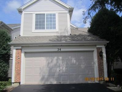 34 W Briarwood Drive, Streamwood, IL 60107 - MLS#: 09749046