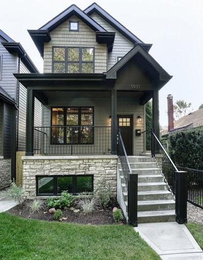 5931 N Hermitage Avenue, Chicago, IL 60660 - MLS#: 09754093