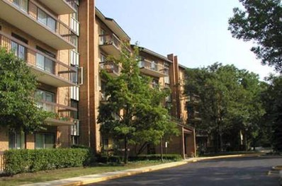 601 Lake Hinsdale Drive UNIT 210, Willowbrook, IL 60527 - MLS#: 09754326