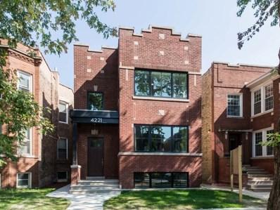 4221 N Leavitt Street, Chicago, IL 60618 - MLS#: 09754614